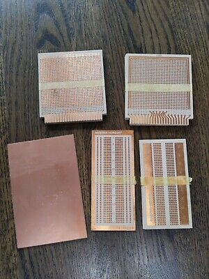 Vintage Prototype Circuit Boards