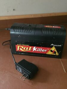 Two electric rodent killers