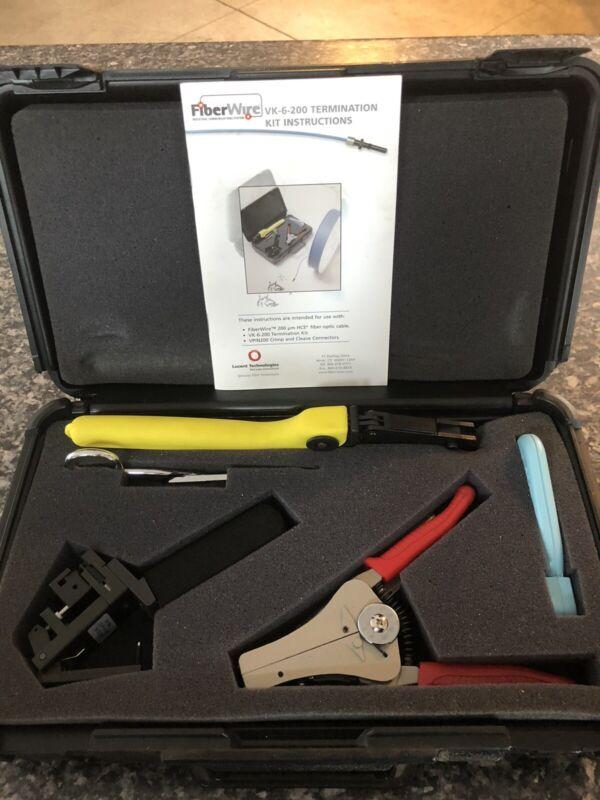 Lucent Technologies VK-6-200 Fiber Optic Termination Kit