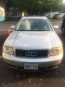 Audi A6 for trade. Car is All Wheel Drive