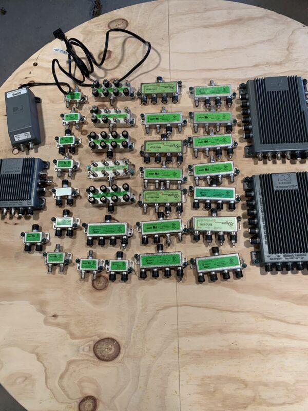 Used Directv SWW8/SWM 16 MODULE 2/4/8 Way Splitters