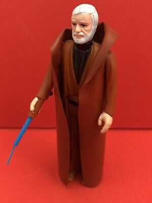 Ben Original DARK BLUE Light Saber Weapon Vintage Star Wars Figures Kenner NICE