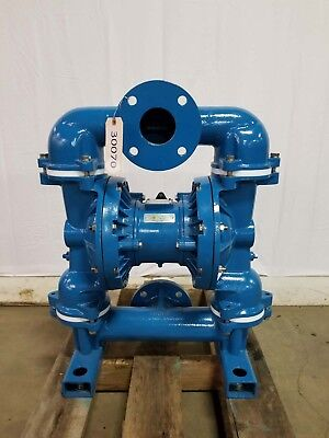 Sandpiper Eb3-sa 3 125 Flange Air Operated Diaphragm Pump 204 Gpm Cast Iron