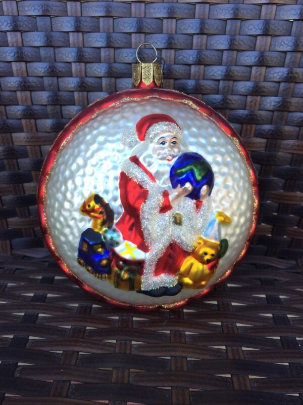 Waterford Chrismas Ornament Rare Santa