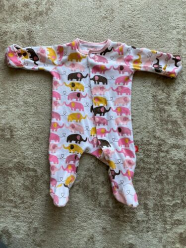Magnetic Me 0-3 Month Footie