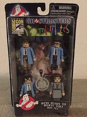 Minimates Ghostbusters We're Ready To Believe You! SDCC BOX SET FREE S/H TRUS