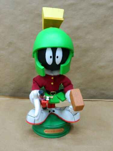 "Rare 15"" Animated Looney Tunes Marvin The Martian Christmas Figure Not moving"