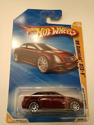 '09 Cadillac CTS-V 2010 HW Premiere Hot Wheels R0925-A814 #10/52 010/214 Sealed