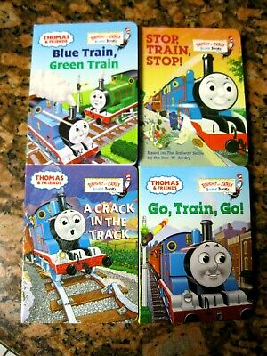 LOT OF 4 DR. SEUSS ~ THOMAS THE TRAIN & FRIENDS BRIGHT & EARLY BABY BOARD BOOKS