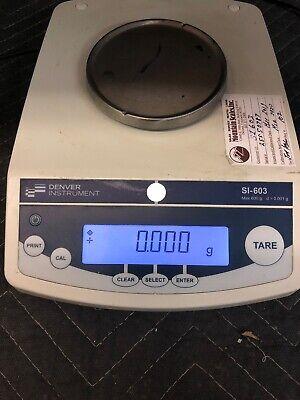 Denver Instrument S1-603 Lab Balance Precicion Scale