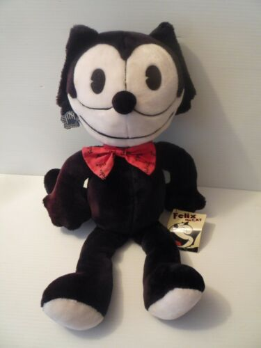 """Vintage FELIX THE CAT 23"""" Plush Stuffed Animal Doll Toy Collectible MINT 1989"""