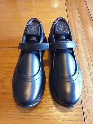 Joya Womens Black Leather Mary Jane Shoes  - UK Size 6 EU 39. Worn Once!