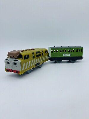 DIESEL 10 Thomas & Friends Trackmaster Motorized Train W/ Works Unit Coach