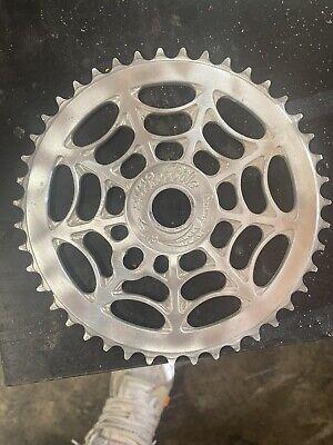 NOS Profile TRIFAN 47T Sprocket Polished BMX Chainwheel Mid School Old