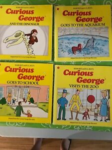 Curious George books by Margret & HA Rey