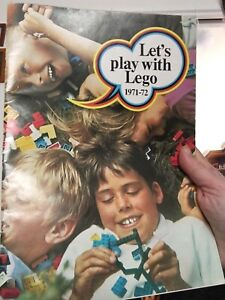 Lego magazine 'Let's play with Lego' 1971-72