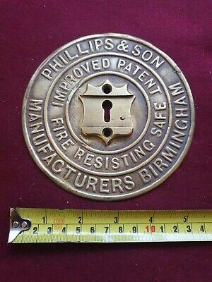 Safe Plaque Safe Plate Escutcheon