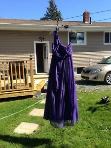 Purple Prom or Bridesmaids Dress