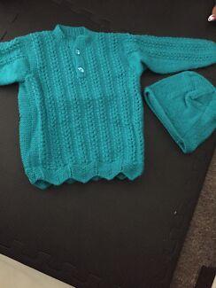Home made kids woollen jackets
