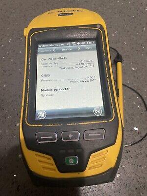 Trimble Geo7x Gps Gnss Handheld Range Finder Nmea Floodlight Please Look At Pics