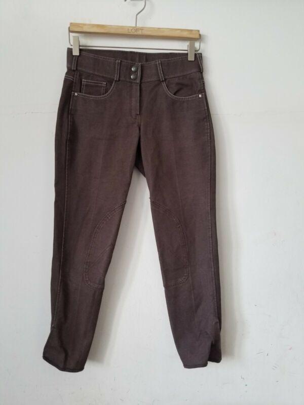 Tuscany Equstrian Breeches Brown Pants, 28