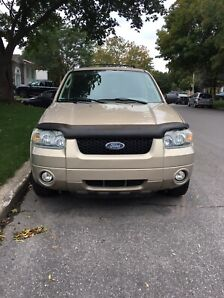 Ford Escaped 2007 powerful 6V ready for winter