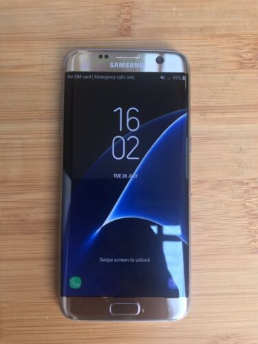 Android Phone - Samsung Galaxy S7 Edge Gold 32GB Unlocked. PHONE ONLY.