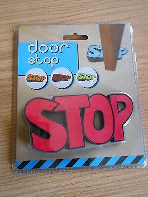 """Türstopper - """"STOP"""" - aus Gummi  - NEU"""