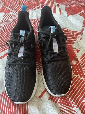 Adidas Questar Flow Shoes Black Uk6 Worn Once Hence A Little Discoloured On Sole
