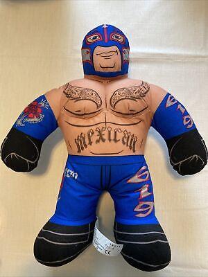 WWE 2012 Mattel Wrestler Brawlin Buddies Rey Mysterio Mexican Stuffed Plush Toy