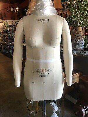 Alvaform Dress Form With Arms Size 10