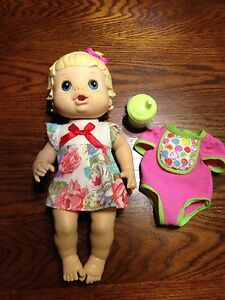 Baby Alive Drink & Wet Doll