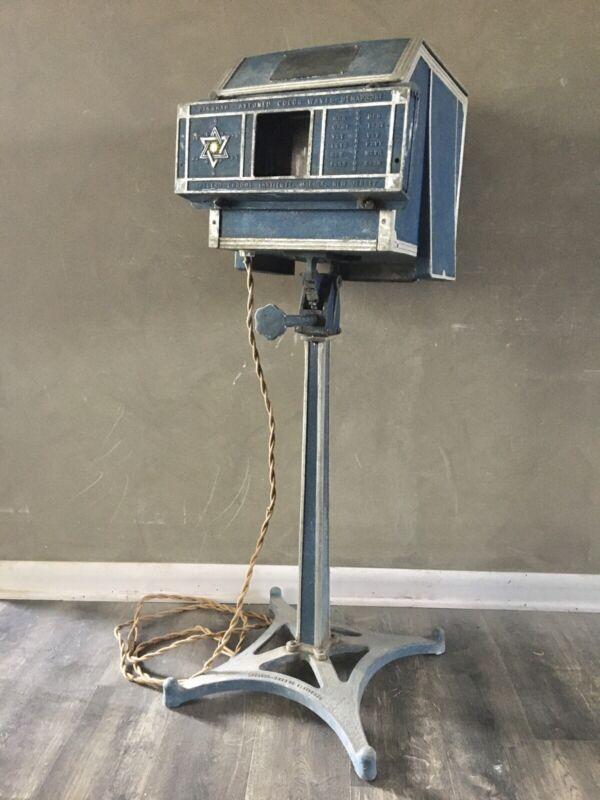 Vintage Dinshah Spectro Chrome Semaphore Light Therapy Quack Medical Occult