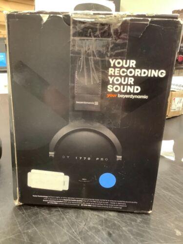 beyerdynamic DT 1770 PRO Over the Ear Studio Monitoring Headphones - Black