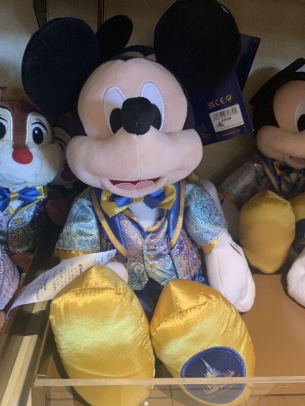 Walt Disney World 50th Anniversary Mickey Plush
