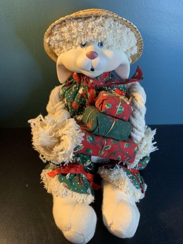 House of Lloyd Christmas around the World Floyd Porcelain head Rabbit In box