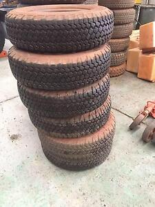 Second hand trailer tyres and rims. 205R16 Bayswater Bayswater Area Preview