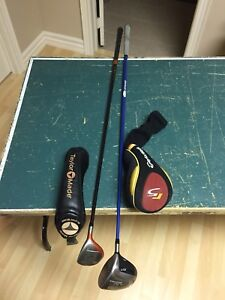 TAYLORMADE DRIVER & WOOD