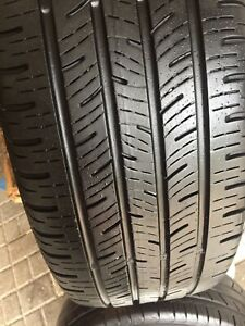 215/55R18 Continental ContiPro very good Condition only 1