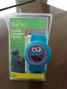 NEW COOKIE MONSTER WRISTWATCH Happy Valley Morphett Vale Area Preview