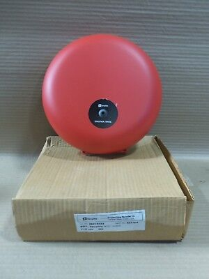 New In Box Simplex 2901-9333 10 Vibrating Bell Fire Alarm Red