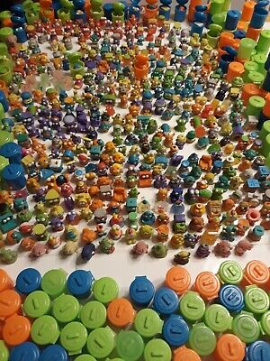 LOT OF 20 TRASHIES AND 20 TRASH GARBAGE CANS Random The Trash Pack Moose Toys **