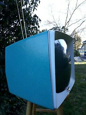 sUper rAre 1958 Packard Bell portable atomic Television set!, used for sale  Puyallup