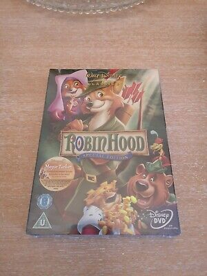 Walt Disney Robin Hood Special Edition DVD new and sealed.