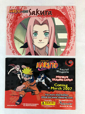 CHEAP PROMO CARD: NARUTO SECRET WEAPON 2007 Inkworks #P-T ONE SHIP FEE PER ORDER for sale  Shipping to Canada