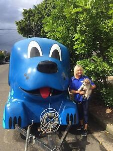 Blue Wheelers Mobile Dog wash & Dog Grooming business for sale. Clovelly Eastern Suburbs Preview
