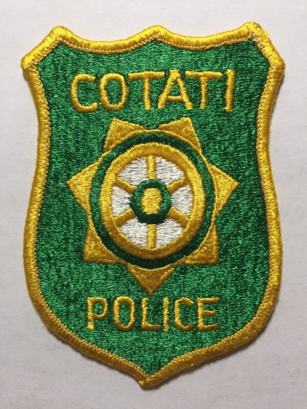 Second Issue Cotati California Police Patch