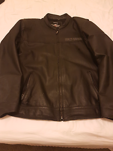 Harley Davidson 3xl leather jacket Maryland Newcastle Area Preview