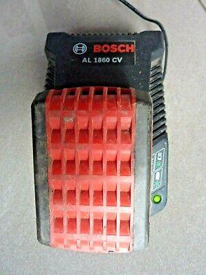 Genuine Bosch AL1860 CV 14.4V - 18V 25 Minutes Fast Battery Charger