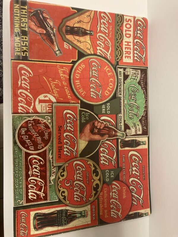 7 Pack Of Coca Cola Placemats